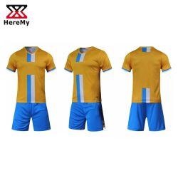 Commerce de gros de Football Club de soccer Jersey Sublimation uniformes personnalisée