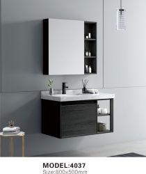 스테인레스 스틸 욕실 캐비닛 장식 가구 욕조, 견고한 목재 욕실 Mirror Set가 있는 캐비닛