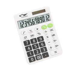 جودة جيدة 12 خانة شعار الطاقة الشمسية مخصص شعار ملون سطح المكتب حاسبة ال سي دي للتسوق
