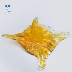 현대 디자인 장식적인 말린 기술은 램프 훈장을%s 유리제 기술 잎을 떠난다