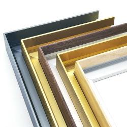 Custom деревянные алюминиевая рамка для фотографий с Дома фотографии украшения