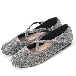Оптовая торговля дамы Италия сладкийпростое совпадение мягкий балет обувь