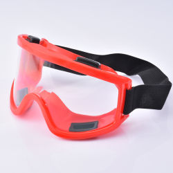 La industria química de la Seguridad Industrial protección ocular Gafas de seguridad de vidrio