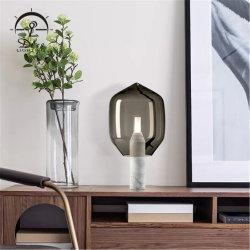 غرفة النوم وود منزل الدراسة فندق مكتب المبيت خشبى خفيف عنصر طاقة الجسم المضيء لمصباح طاولة الحامل ثلاثي القوائم