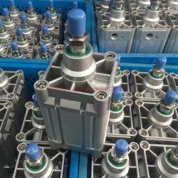 Cilindro de ar padrão em alumínio da série DNC ISO6431, dupla acção pneumática Cilindro