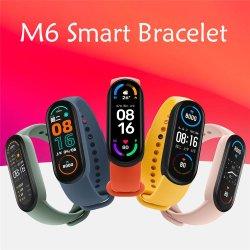 Mi Band 6 Gesundheits- und Fitness-Tracker, bis zu 14 Tage Akku, Herzfrequenzsensor, Schlaf-Tracker, Aktivitäts-Tracker, Schwimmen Tracking, Schrittzähler, Schlafzähler
