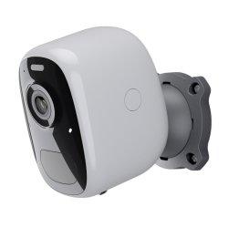 Batería recargable de panel solar de la cámara inalámbrica WiFi 1080p Full HD cámara exterior Audio bidireccional de detección de movimiento PIR Ai Cámara Solar