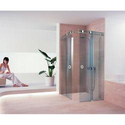Chinese Glass door Hardware Accessoires Verkoper Getemperd glas Badkamer Sliding Douchedeur