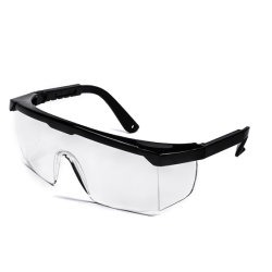 Go014 certifiées Ce JAMBE AJUSTABLE des lunettes de protection des lunettes de sécurité