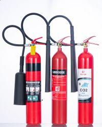 قتال قياسي مع الحرائق 2 كجم 3.5 كجم 5 كجم 7 كجم CCS/Med ISO9809-1 أسطوانة النظام/أسطوانة طفاية الحريق من الألومنيوم الصلب لغاز CO2