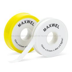 12 mm witte PTFE-schroefdraadafdichting Teflon-tape