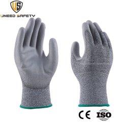 CE HPPE، تقنية السلامة للعمل الميكانيكي، تقنية منع القطع (PU) للعمل الميكانيكي بسلاسة محب العمالة المقاوم للمقاومة