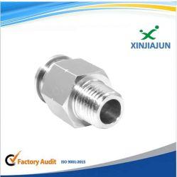 La toma de buena calidad forjada en acero inoxidable higiénico sanitarias de la soldadura del tubo acodado el racor hidráulico de tubos