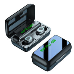 2021 R15 TWS draadloze oortelefoons 5.1 Sport Gaming oordoppen LED Display hoofdtelefoon F9 5c noise-cancelling oortelefoon
