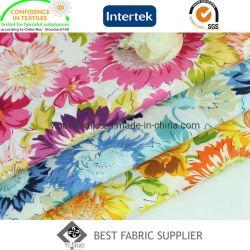 100 хлопка Poplin печать цветов ткани платье юбка ткань