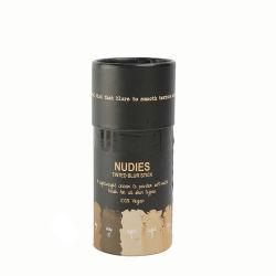 La Ronda de lujo en el tubo de almacenamiento de cilindros de cartón de papel caja de embalaje Caja de regalo para el Té o Café