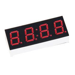Cuatro dígitos de 1.2 pulgadas pantalla LED de siete segmentos