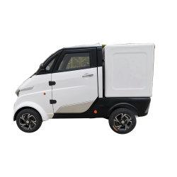 Pizza de quatro rodas de carga elétrica de entrega de alimentos com Certificado CEE