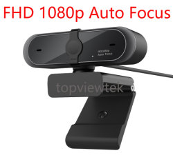 붙박이 마이크를 가진 자동 초점 FHD 1080P USB Webcam 사진기 컴퓨터 캠