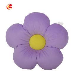 Décoration personnalisée violet doux professionnel 3D'Oreiller de fleur d'impression