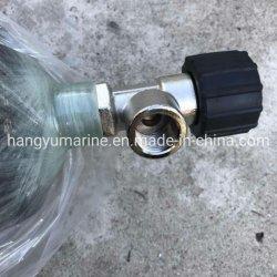 Vérin de rechange en acier au carbone pour appareils respiratoires SCBA