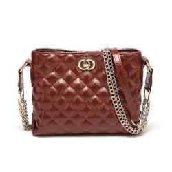 2019 стать Веганом кожи классического стороны сумки наполненный пользовательские моды малым буртиком PU Crossbody женщин Сумка почтальона