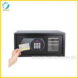 Отель цифровой сейф для хранения ценностей с Master Card переопределения
