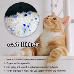 ZandCat Products/Silica Gel Cat nest/Crystal/Tofu/ Bentoniet stofvrije kat Nest met kleurrijke en fragrance