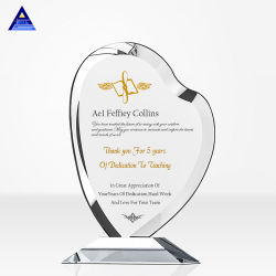 هدايا كريستال الكرة الأرضية لجوائز رقائق التصميم الرقص مخصص كأس الكؤوس