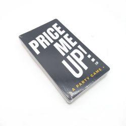 L'art d'impression personnalisé jouant aux cartes papier cartes de jeu personnalisé adulte prix personnalisés Me Up Card Game Commerce de gros