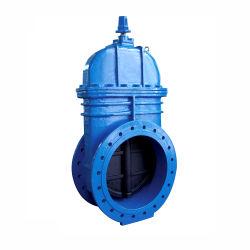 DIN3352 DN1000 Pn25 연성 주철 Gg50 Di 큰 크기 탄력적으로 착석한 플랜지 F4 게이트 밸브 제조업체
