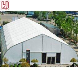 Piso de la marquesina doble techo curvo de parte de eventos tienda de campaña para la venta, la estructura de aluminio TFS carpa para Evento