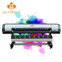 大きい割引Ricoh G5Iヘッドが付いている支払能力があるプリンターデジタル屈曲の印字機1.8メートルの大きいフォーマットのEco