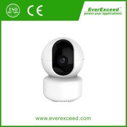 Mini caméra IP intérieure avec infrarouge noir et blanc, de vision de nuit Mobile App alarme instantanée pousser