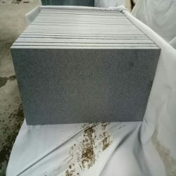 Grauer Granit G633 für Pflasterung-Stein/Baumaterial/im Freienstraßenbetoniermaschinen/das Swimmingpool-Fertig werden