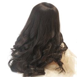 女性のための wigs は 100% ヨーロッパの人間の毛のレースを自然な hairline する ユダヤ人の上の Wig のコシャーの wigs は最もよい Sheitels の wigs の自由な船積み 毛ユダヤ人の wigs