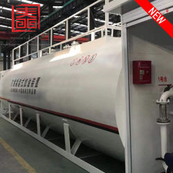 На заводе прямой продажи 58000L Петро заправочной станции переносные цистерны с дополнительного оборудования двойного отсеков