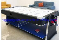 طاولات متعددة الوظائف للعب البلياردو/اجتماع/كرة تنس الطاولة/تجعيد كرة الطاولة 4 في 1