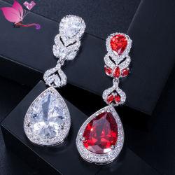Yiwu alta qualidade AAA cúbico zircão brincos joias para Mulheres senhoras