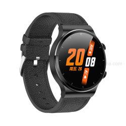 أحدث 1.28 بوصة، شاشة كاملة الدوائر تعمل باللمس، ذاكرة 4 جيجا بايت، BT اتصل بجهاز مراقبة معدل نبضات القلب وضع Smart Watch الرياضي مع مشغل الموسيقى ج51