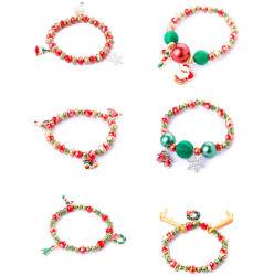 Mode bijoux Noël X' Mas de vacances avec Bracelet en émail extensible