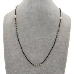 Cadena de Negro Mlgm Portagafas Miyuki cadenas gafas de sol con reborde de la moda 2021 Correas Collar de perlas de agua dulce de cristal para la mujer mayorista cordón máscara