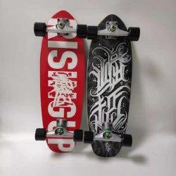 Sway Hot Selling Surfing Skateboard Surf Skateboard Carve Board와 함께 하세요 CX4 알루미늄 트럭 7플라이 메이플 스케이트 보드 펌핑 스포츠 스트리트