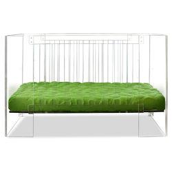 手はよりよい養樹園のためのアクリルのベビーベッドの折畳み式ベッドのまぐさ桶を作る