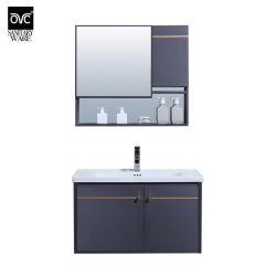 Insieme di alluminio del Governo di vanità della mobilia della stanza da bagno di disegno classico