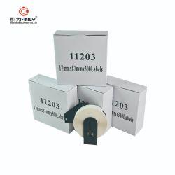형제 Dk 11203는을%s 양립한 다시 채울 수 있는 카트리지를 가진 17mm x 87mm 레이블 Ql 인쇄 기계를 P 만진다