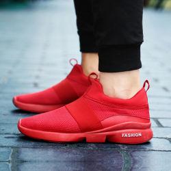 La marca No baratos Zapatillas, zapatos casuales los hombres zapatillas de color rojo, el aire el deporte de moda Zapatos para hombres