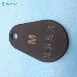 Программируемые 13.56Мгц бесконтактный считыватель NTAG213 NTAG215 NTAG216 с тканью Пример Pear RFID Брелок Tag