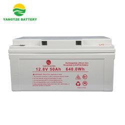 Célula de lítio Yangtze LiFePO4 Bateria de polímero de 12V 50AH
