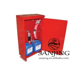 O extintor de incêndio de espuma Caixa / Painel de Incêndio